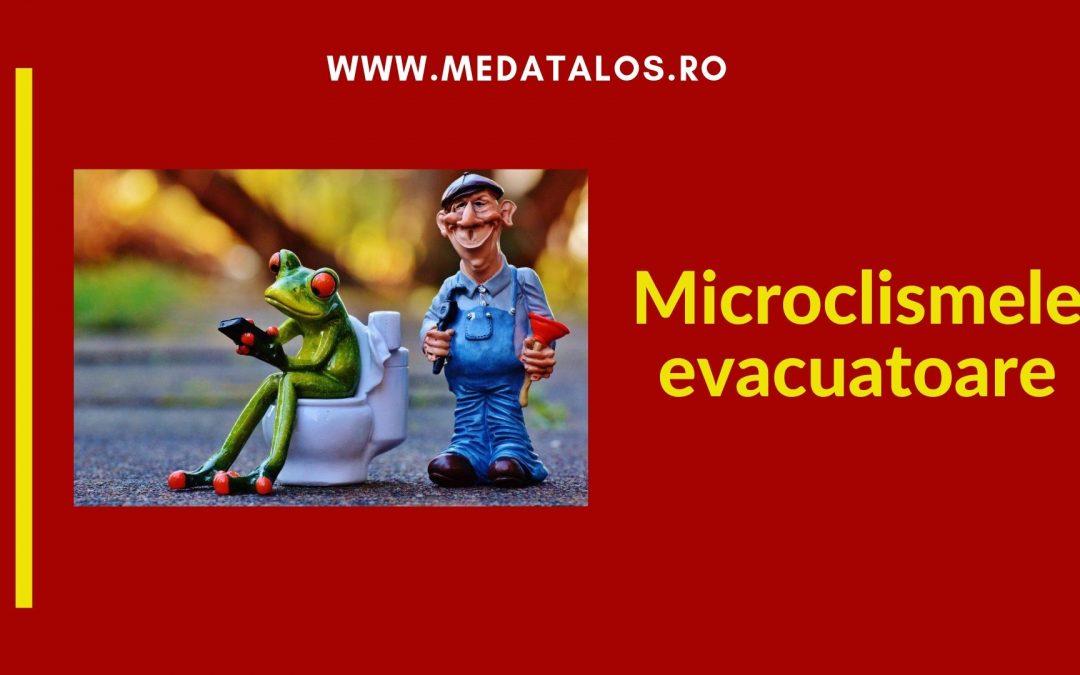 Microclismele evacuatoare